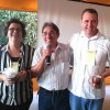 Raquel Juliano, Paulo Moura e Dr. Marcus Vinícius